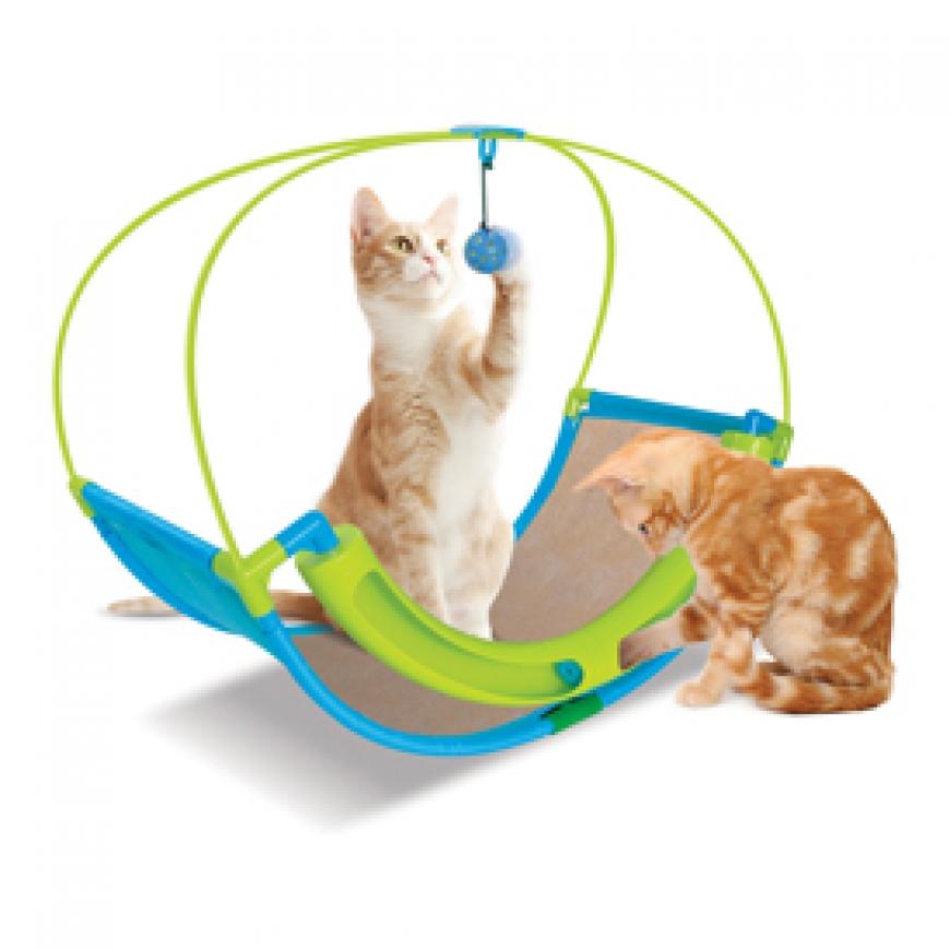Когтеточки и игрушки для кошек
