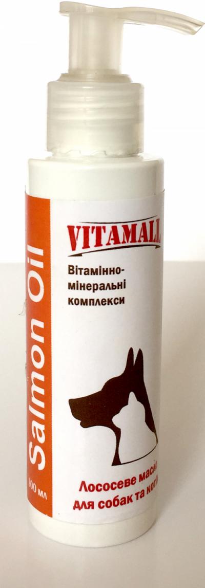 Витамол Масло лосося VitamAll 100 г