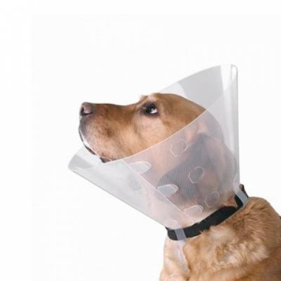 Воротник пластиковый Collar Dog Extreme для собак и кошек, размер L, 25 см