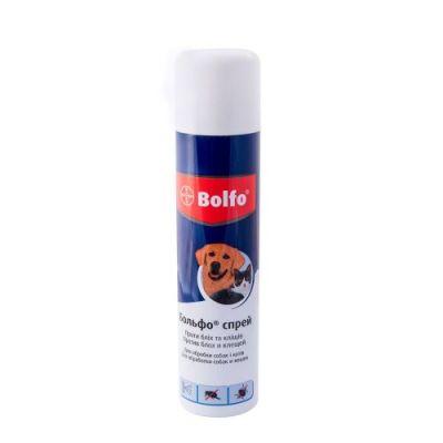 Bolfo SPRAY (Больфо спрей) противопаразитарный спрей для кошек и собак, 250 мл