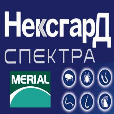 NexGard Spectra - таблетки НексГард Спектра против блох, клещей и гельминтов для собак весом 2 - 3,5 кг, 3,5 - 7,5 кг, 7,5 - 15 кг, 15 - 30 кг, 30 - 60 кг