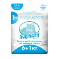 Наполнитель СуперКет SuperCat стандарт, 6+1 кг
