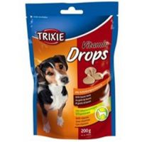 TRIXIE Трикси Vitamin drops драже со вкусом бекона для собак 200 г ТХ 31633