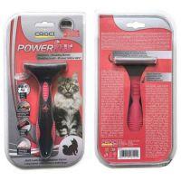 Фурминатор Croci POWERfur для длинношерстных котов (более 4,5 кг), 6,5 см