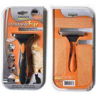 Фурминатор Croci POWERfur для кошки с короткой шерстью (более 4,5 кг), 6,5 см