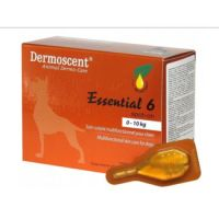 Капли Dermoscent на 0-10 кг Essential-6-spot-on для собак 1 пипетка, упаковка 4 пипетки