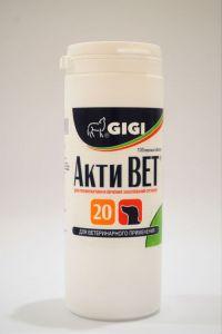 GIGI ACTI VET Акти Вет 20 витамины для собак, 100 табл.
