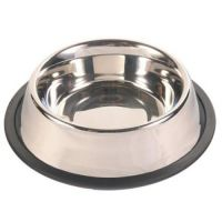 TRIXIE Трикси миска металл для собак 1,8 л ТХ-24854