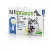 Милпразон таблетки против глистов для собак до 5 кг, более 5 кг 1 таблетка
