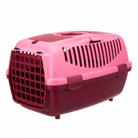 Трикси Переноска для собак TRIXIE Capri 2, XS–S: 37 × 34 × 55 cм, ягодный/розовый ТХ-39829