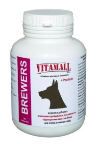 VitamAll BREWERS для собак крупных пород 90 таблеток