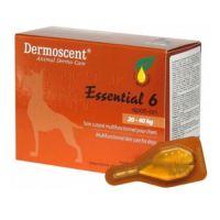 Капли Dermoscent на 20-40 кг Essential-6-spot-on для собак 1 пипетка, упаковка 4 пипетки