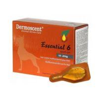 Капли Dermoscent на 10-20 кг Essential-6-spot-on для собак 1 пипетка, упаковка 4 пипетки