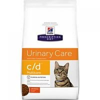 Hill`s Prescription Diet Feline c/d Multicare курица
