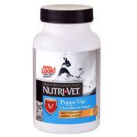 Nutri-Vet Puppy-Vite НУТРИ-ВЕТ ПАППИ-ВИТ мультивитамины для щенков до 9 месяцев  60 табл