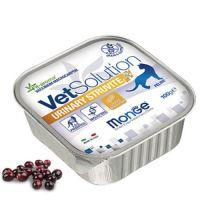 Monge VetSolution Cat Urinary Sruvite - Монже для кошек Уринари Струвит - лечебная беззерновая диета для кошек при мочекаменной болезни струвитного типа (консервы) ламистер 100 г