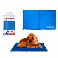 Охлаждающий коврик для собак, синий, 40*30 см CROCI