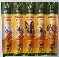Allegro Dog колбаски для собак с курицей блистер 5шт