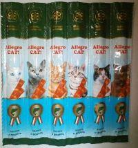 Allegro CAT! Колбаски для кошек Алегро Кет, лакомства.