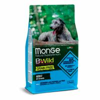 MONGE Dog BWild GRAIN FREE Adult All Breeds, ANCHOVY - Монже беззерновой с анчоусом для взрослых собак всех пород сухой корм 2,5 кг; 15 кг