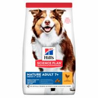 Hill's SP Canine Mature Adult 7+ Medium (11-25 kg) (with Chicken) - Хиллс повседневный корм для средних (11-25 кг) собак с 7 лет (сухой корм с курицей) 14 кг