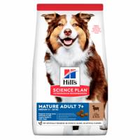 Hill's SP Canine Mature Adult 7+ Medium (11-25 kg) (with Lamb and Rice)- Хиллс повседневный корм для средних (11-25 кг) собак с 7 лет (сухой корм с  ягненком и рисом) 2,5 кг; 14 кг