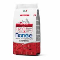 Monge NS Dog Mini Adult (chicken) - Монже полноценный корм для взрослых маленьких (до 10 кг) собак (сухой корм с курицей) 0,8 кг, 3 кг; 7,5 кг; 15 кг