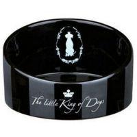 TRIXIE Трикси миска керамическая для собак King of Dogs ТХ-25027
