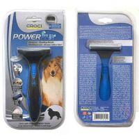 Фурминатор Croci POWERfur для собак длинношерстных (9-24 кг), 6,5 см