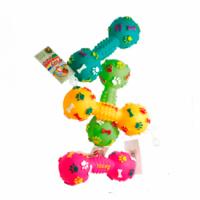 Croci Игрушка для собак Гантель виниловая 14,5 см, 1 шт