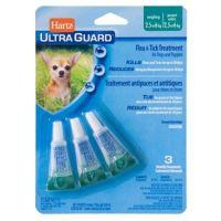 Hartz Ultra Guard Капли от блох, клещей, комаров для собак и щенков 2-7 кг 1 пипетка