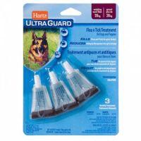 Hartz Ultra Guard Капли от блох, клещей, комаров для собак и щенков более 27 кг 1 пипетка
