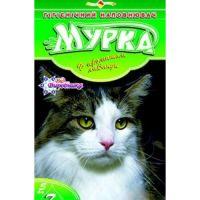 """Гигиенический наполнитель песок для туалетов """"МУРКА"""" (зеленый) мелкий 5 кг"""