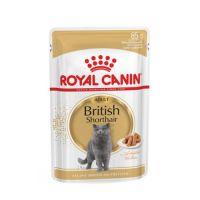 Royal Canin Cat British Shothair - Роял Канин для взрослых британских короткошерстных кошек влажный корм 85 г, пауч