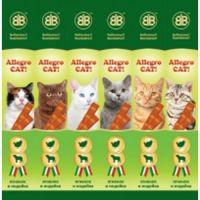 Колбаски для котов Allegro Cat Аллегро Кет из Ягненка и Индейки для кошек 6*5 гр
