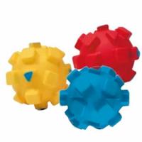 Croci Игрушка для собак Мяч с квадратами, винил, 9 см, 1 шт