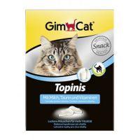 Gimborn Витамины Топинис GimCat Topinis молоко 190 таблеток