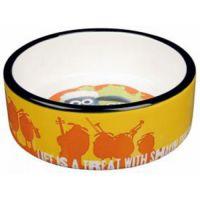 TRIXIE Трикси миска для собак керамика Shaun the Shepp ТХ-25041