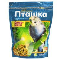 """Пташка """"Супер-меню"""" 600 г, корм для декоративных птиц, Продукт"""