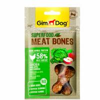GimDog Суперфуд для собак мясные косточки, курица с яблоком и капустой, 70 г