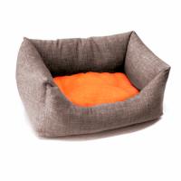 Диван для животного Dual, серый/оранж 45*30 см  CROCI