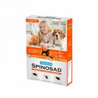 SUPERIUM Spinosad (СПИНОСАД) таблетка от блох для котов и собак от 5 до 10 кг