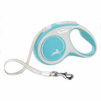 "TRIXIE Рулетка для собак флекси ""New COMFORT"", S 5 м/15 кг (голубой) TX-213404"