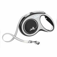 """TRIXIE Рулетка для собак флекси """"New COMFORT"""", M 5 м/до 25 кг (черный) ТХ-213501"""