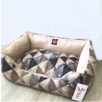 """Лежак для собак """"TM DIEGO"""" 3/5 Диего рест """"треугольник"""" 70*50 см"""