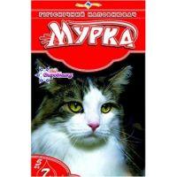 """Гигиенический наполнитель песок для туалетов """"МУРКА"""" (красный) крупный 5 кг"""