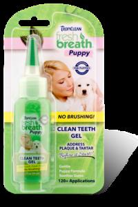TropiClean (Тропиклин) Clean Teeth Gel Puppy- гель для чистки зубов Тропиклин для щенков 59 мл