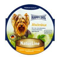 Happy Dog паштет для собак индейка 85 гр
