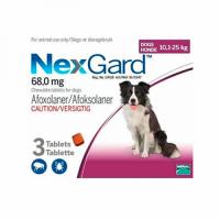 Нексгард (NexGard) таблетки против блох и клещей для собак весом 10 - 25 кг