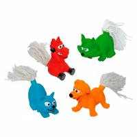 Croci Игрушка для собак Хвостатые, винил с пищалкой, 25 см